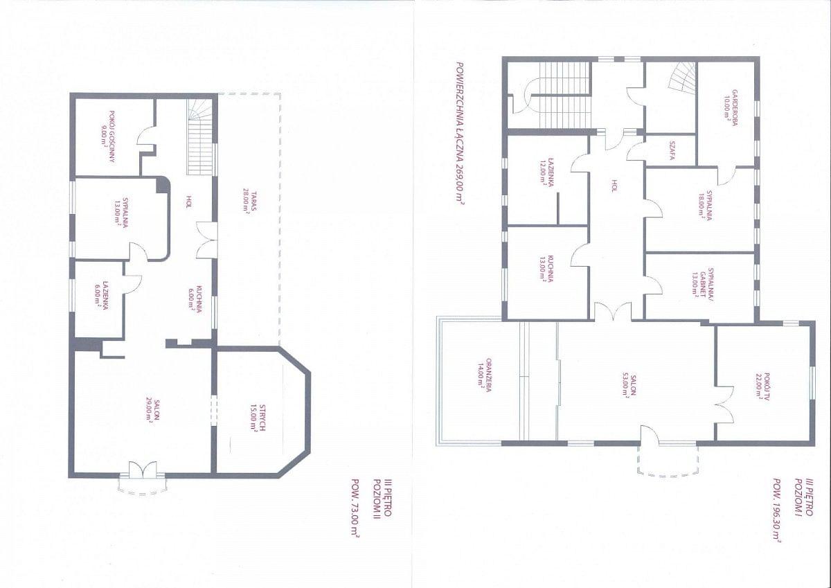 Mieszkanie 8 pokojowe na Sprzedaż