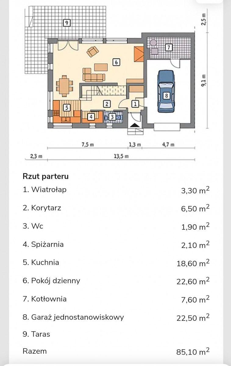 Dom 4 pokojowe na Sprzedaż