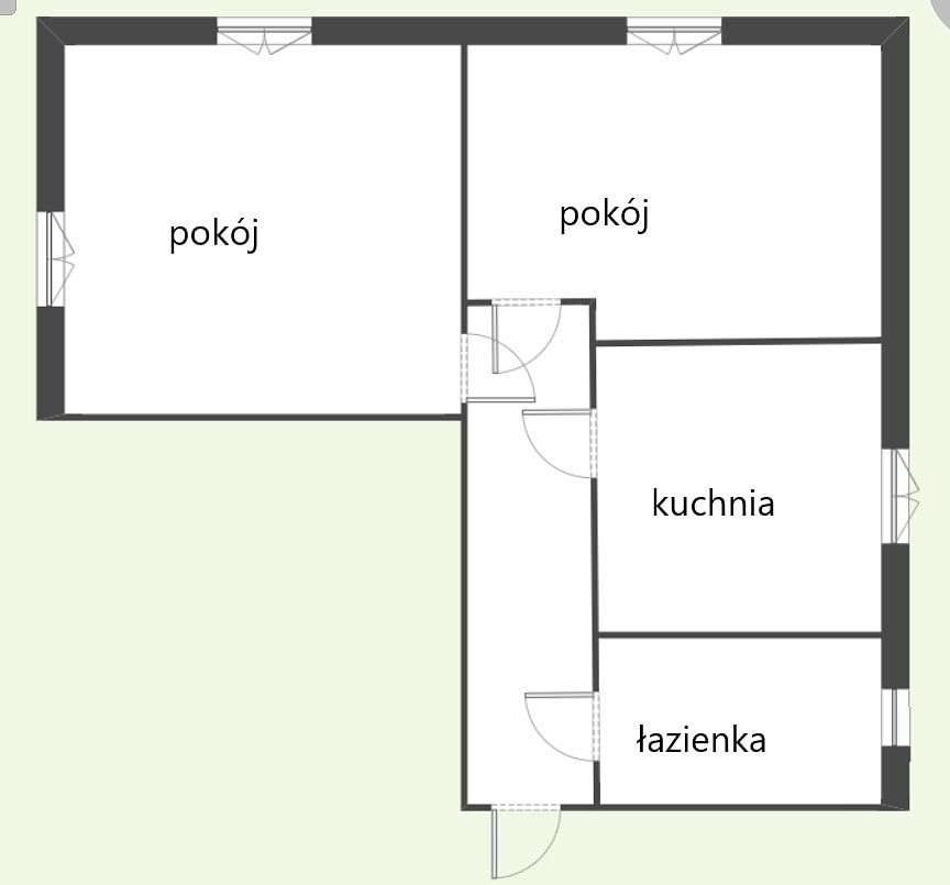 Mieszkanie 2 pokojowe na Sprzedaż